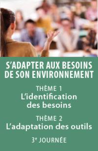 Écoles & centres de formation, atelier n°3